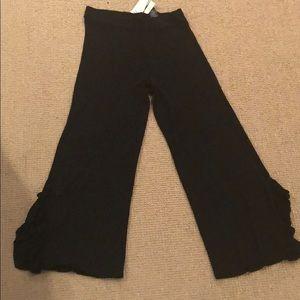 NWT Zara Ruffle knit pants